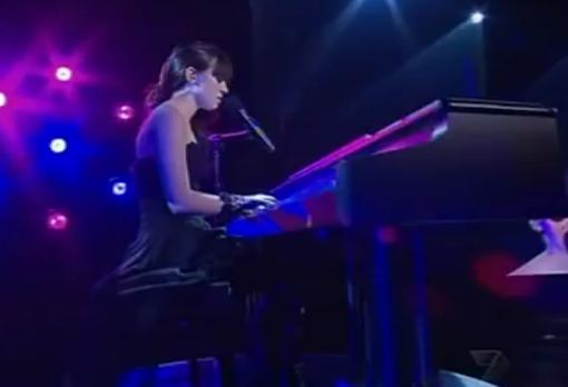 Christina Parie Zombie on piano X Factor Australia 2011