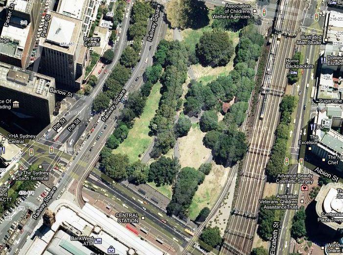 Belmore Park Sydney