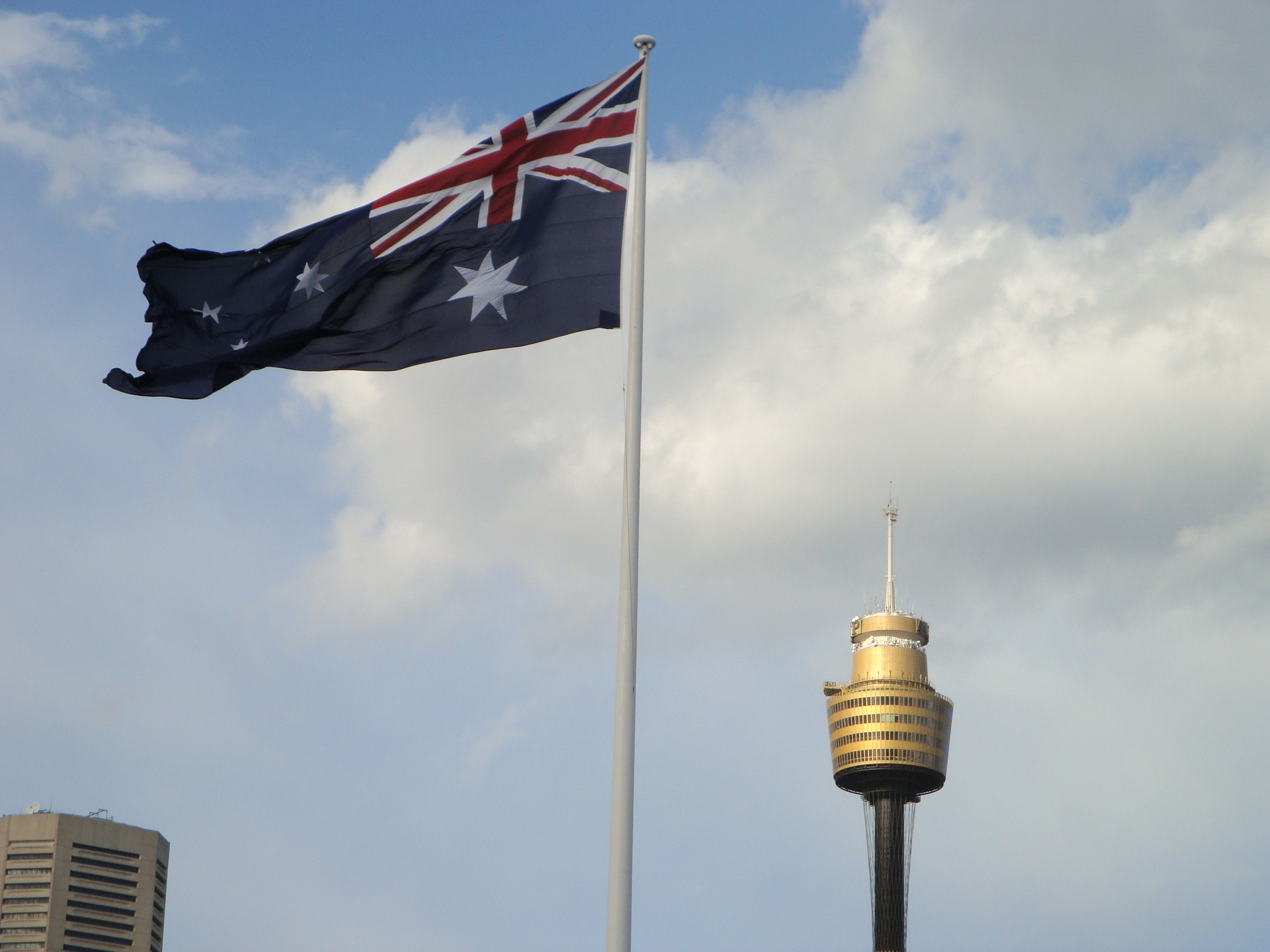 Darling Harbor Giant Australian Flag