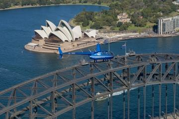 sydney harbour tour by helicopter in sydney 119123