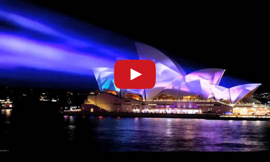 Sydney Opera House – Vivid Sydney – Festival of Lights, Music and Ideas