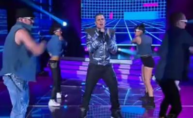 Johnny Ruffo I Do Anything for Love  X Factor Australia 2011