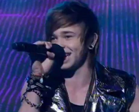 Reece Mastin sings Stayin Alive
