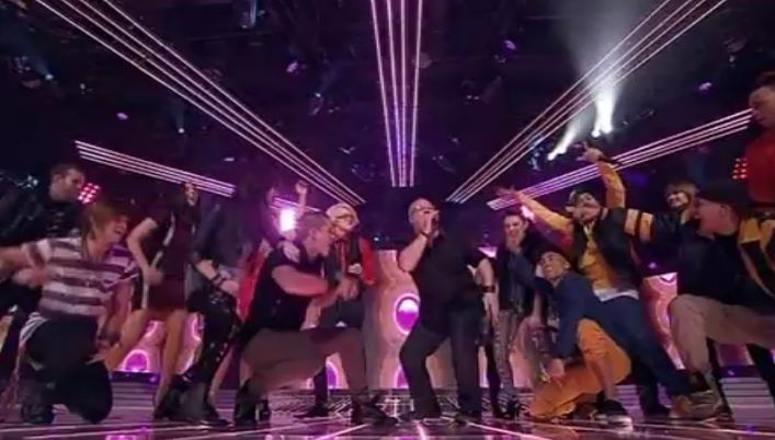 Top 12 Perform  Raise Your Glass X Factor Australia 2011 first decider
