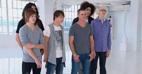 top 6 Under 25 Boys X Factor Australia 2011