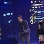 Andrew Wishart and The Fray X Factor Australia 2011 grand final