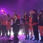 Emmanuel Kelly with top 12 Imagine X Factor Australia 2011 Grand Final