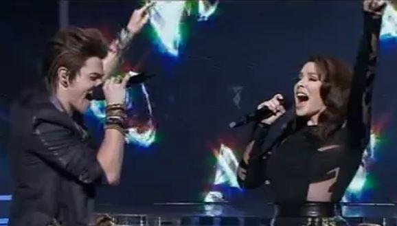 Reece Mastin duet with Kylie Minogue  X Factor Australia 2011 Grand Final show