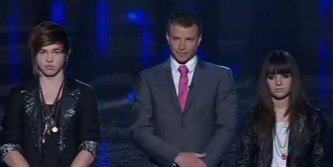Reece Mastin vs Christina Parie  Songs & Results Final 6 X Factor Australia 2011 Live Decider 7