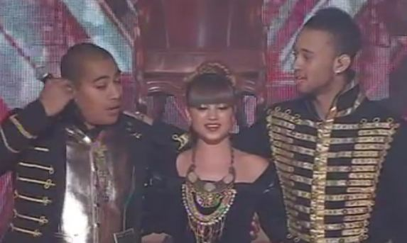 Three Wishez Sings Black Eyed Peas Song The Time X factor Australia 2011