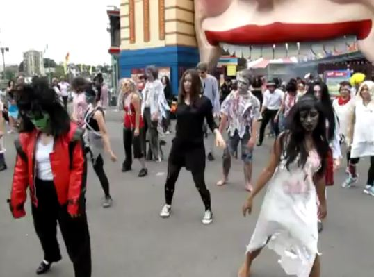 Thrill The World 2011 Sydney  Australia