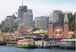 cheap hotels near Luna Park Sydney
