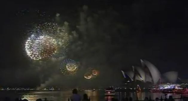 Sydney New Years Eve 2012 Fireworks