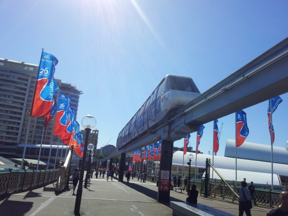 Sydney MonoRail Darling Harbour