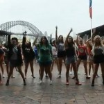 One Direction Sydney Flash Mob