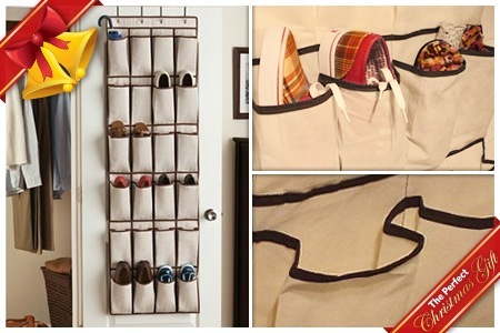 12-Pair Hanging Shoe Organiser