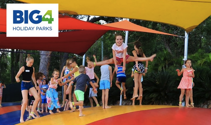 Port Stephens, NSW: 2 or 3 Nights for Up to 4 People with Wine and Late Check-Out at BIG4 Koala Shores Holiday Park