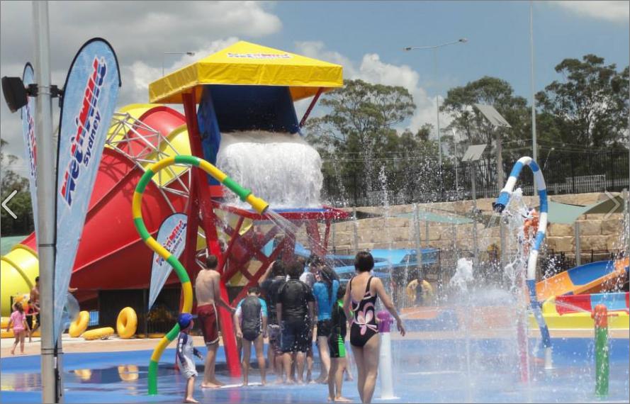 Wet and wild Sydney water park
