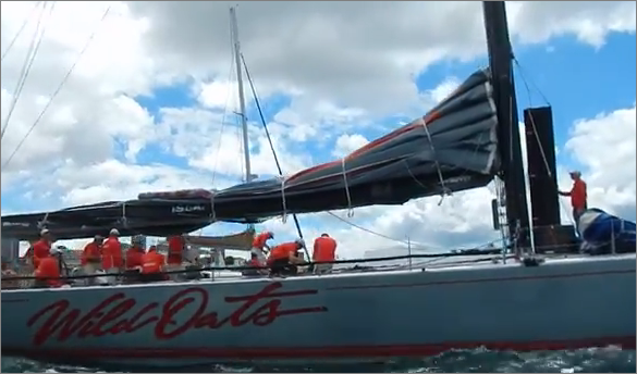 Wild Oats XI wins Sydney to Hobart 2013