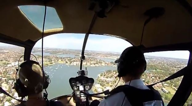 sydney harbour helicopter tour photo 2