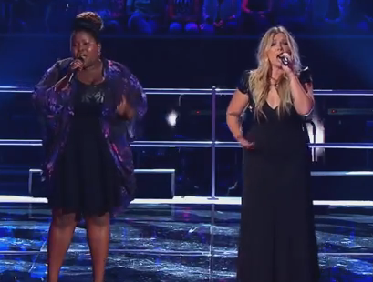 Candice Skjonnemand versus Thando Sikwila The Voice Australia 2014