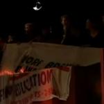 Student protesters interrupt Q&A
