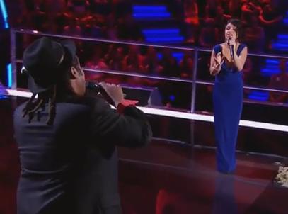 Lionel Cole Battles Sabrina Batshon The Voice Australia 2014