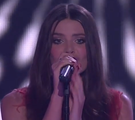 Holly Tapp sings Lovefool The Voice Australia 2014