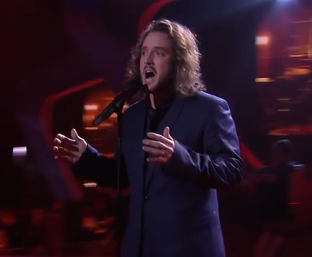 Jackson Thomas sings Bridge Over Troubled Water  The Voice Australia 2014