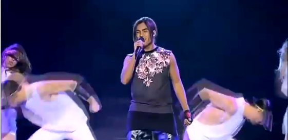 Adrien Nookadu X Factor Australia Live Shows Week 2 Top 12