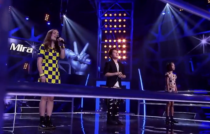 Harmony, Shuan and Mira Sing Somewhere Out There  The Voice Kids Australia 2014