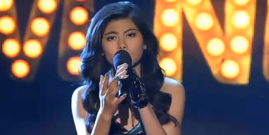 Marlisa Punzalan X Factor Australia Week 3 Hopelessly Devoted to you