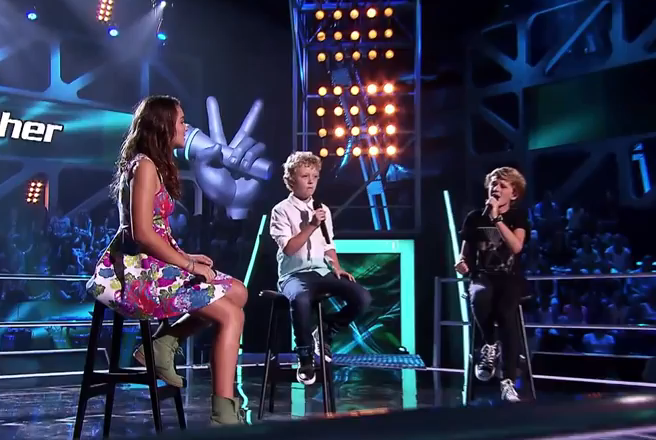 Martha, Reilly and Fletcher Sing Let Her Go The Voice Kids Australia 2014