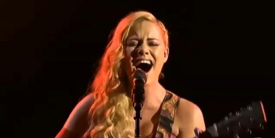 Reigan Derry Sings Creep X Factor Australia