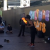 Sydney Street Baskers Darling Harbour Fire Eater