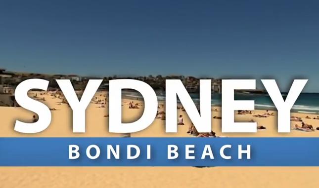 sydney bondi beach video