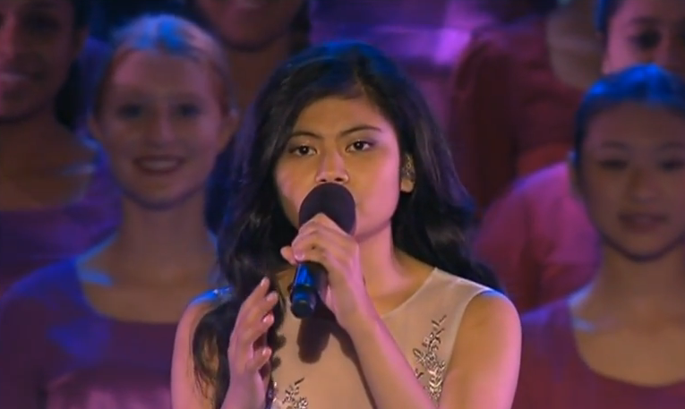 Marlisa Sings Away In A Manger  Carols In The Domain 2014