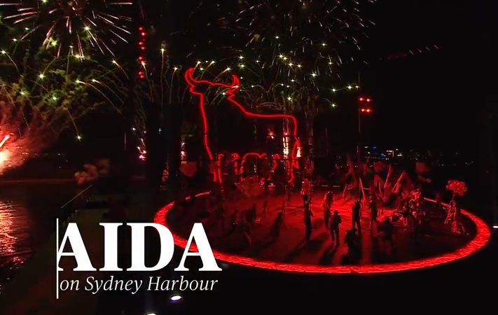 Aida Handa Opera on Sydney Harbour