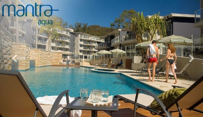 Nelson Bay 2 Nights Getaway for 4 at 4-Star Mantra Aqua Hotel Deal