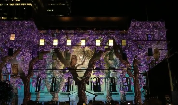 Vivid Sydney 2015 Customs House photos