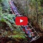 World's Steepest Railway - Scenic World, Katoomba