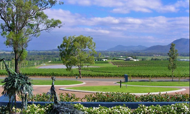 Hunter Valley From $239 for a Winery Retreat with Breakfast, Wine and Canapés at Tuscany Wine Estate Resort