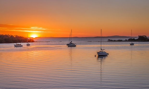 Port Stephens $199 for a Waterview Villa Escape with Breakfast and Late Checkout at Thou Walla Sunset Retreat