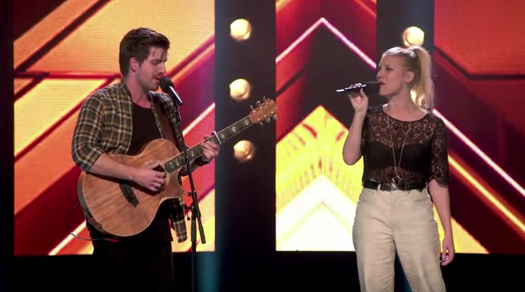 Jess & Matt Say Something - 5 Seat Challenge - The X Factor Australia 2015