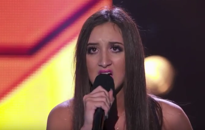 Maddison Milewski - Bootcamp Performance The X Factor Australia 2015