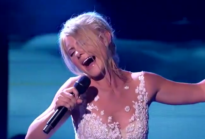 Michaela Baranov  X Factor Australia 2015 Live Show 1