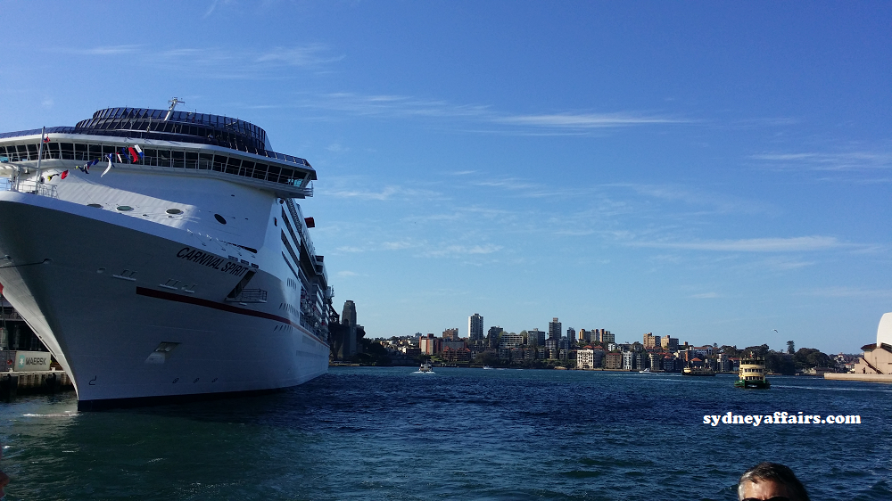 Sydney Harbour Cruise Ship