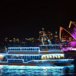 From $28 for a 90-Minute Vivid Festival Cruise with Two Drinks and Buffet with Good Time Cruises (From $79 Value)
