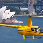 Sydney Harbour Helicopter Flight for Two or Three People with Bankstown Helicopters