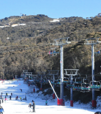 """The Snowy Mountains, known informally as """"The Snowies"""", is an IBRA subregion and the highest mountain range on the continent of mainland Australia"""